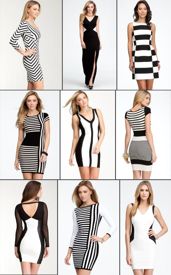 Black And White Dresses Brownbee