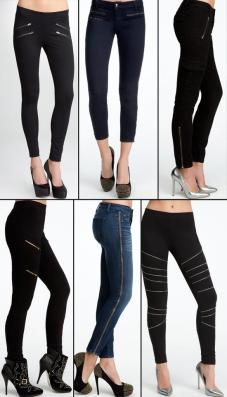 I especially like the jeans on the far bottom right.  Source: Bebe.com